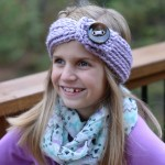Free Crochet Pattern - Knit-Look Chunky Headwarmer (Child Sizes) by A Crocheted Simplicity