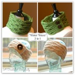 "Crochet Pattern  |  ""Winter Waves"" Cowl & Ear Warmer"