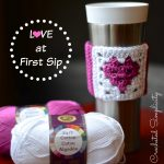 Free Crochet Pattern – Love at First Sip Coffee Sleeve