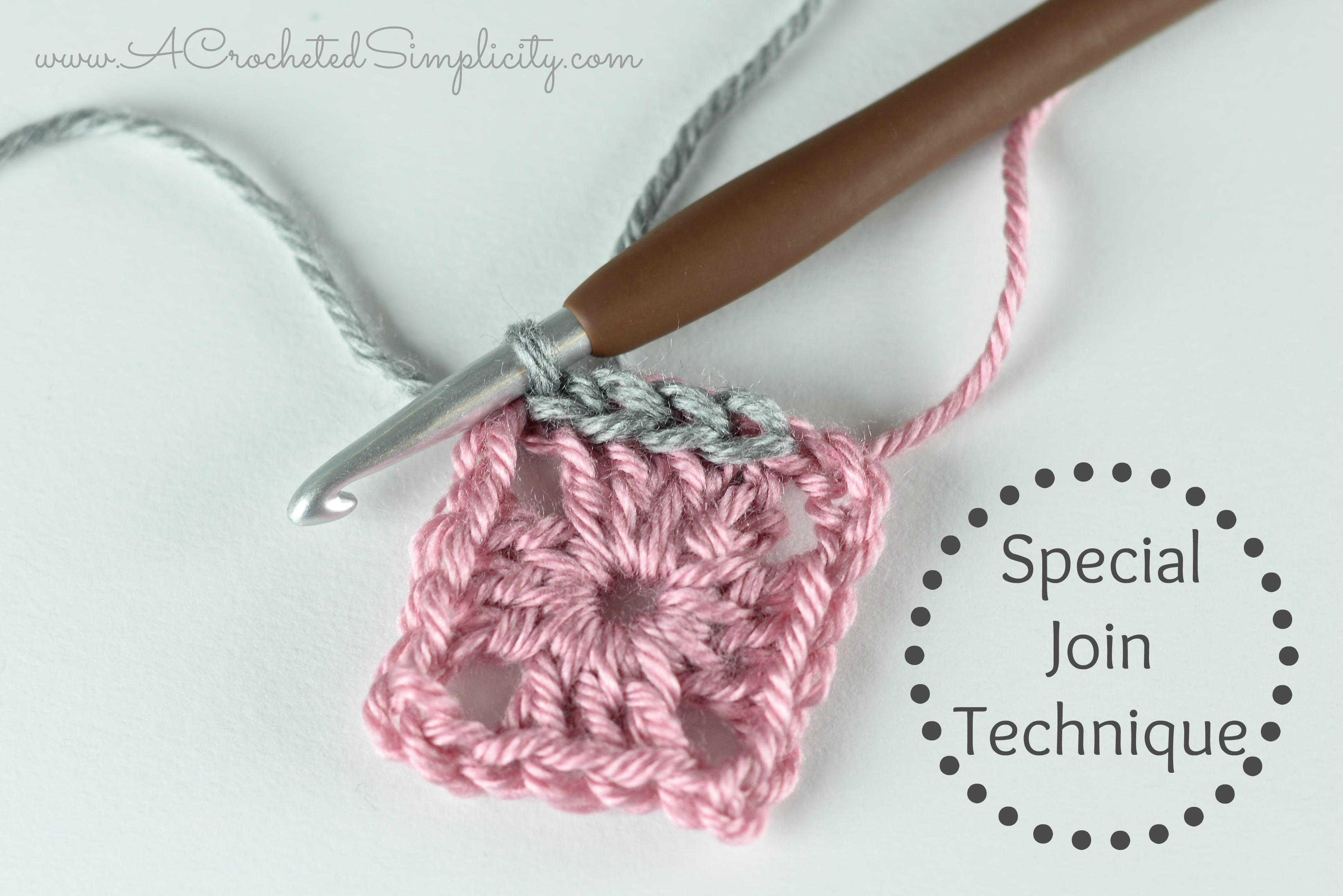 Crochet Tutorial - Special Join for Slip Stitch Rounds - A Crocheted ...