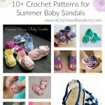 Sweet Little Feet – Crochet Pattern Round-Up – Summer Baby Sandals