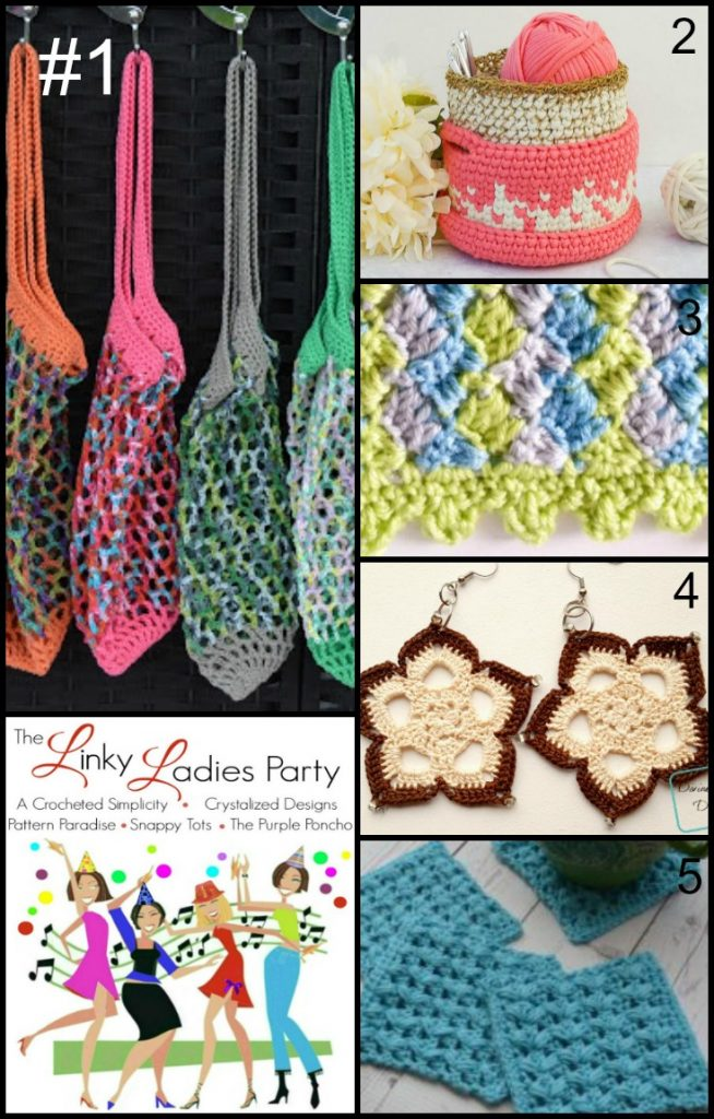 Come join The Linky Ladies Link Party! Link up your latest projects & find the latest Top 5 Most Clicked!