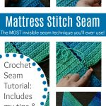 How to Sew a Mattress Stitch Seam