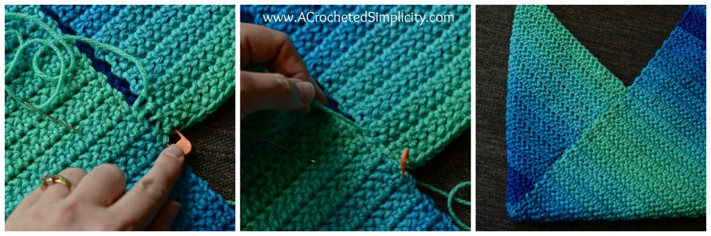 How to: Mattress Stitch Seam Tutorial for your crocheted items - by A Crocheted Simplicity