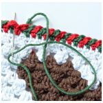 Criss-Cross Crochet Edging – Step-by-Step Photo Tutorial