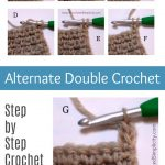How to Crochet – Alternate Double Crochet